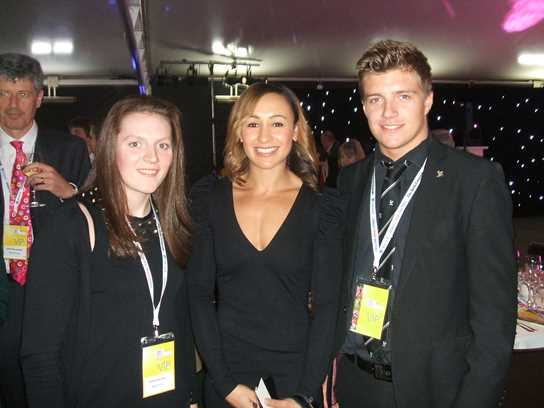 Emma Saunders and Oliver Walker meet GB Olympian Jessica Ennis