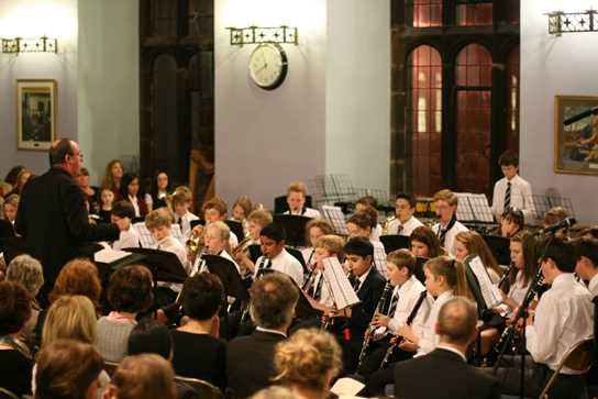 The Junior Concert Band