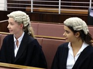The Sixth Form students performed well in the Mock Trials