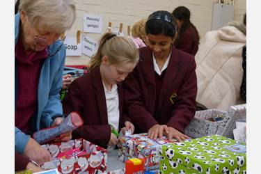 Bolton School Shoebox Appeal
