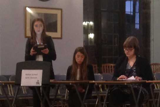 The Bolton School Sixth Form girls performed well in their debates