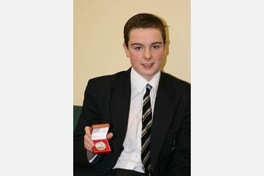 Jack is the first Bolton School boy to win a silver medal in the Junior Mathematical Olympiad
