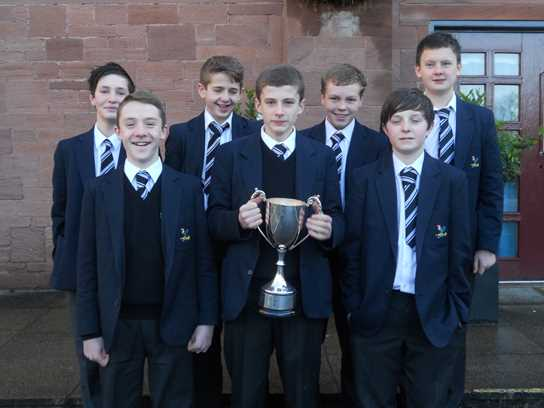 Bolton School Under 13s water polo team won the prestigious President Trophy tournament