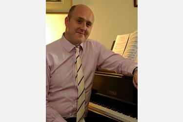 Mark will perform at Christ's Church Harwood in March