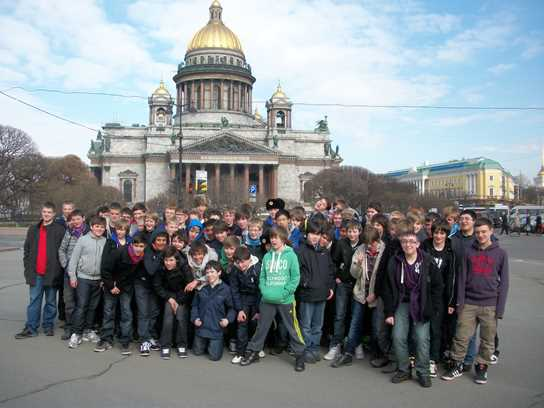 The Russia trip is a regular and popular excursion