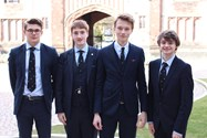 High achieving Sixth Formers in Linguistics Olympiad success