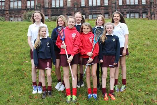 The girls selected for the Lancashire U13 Squad