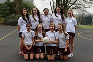The U14 Netball Team were runners-up in the competition