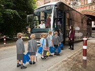 Bolton School chidren of all ages utilise the friendly private coach service