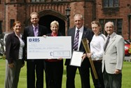 The cheque handover