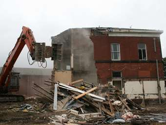 Beech House Demolition 1