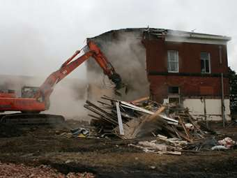 Beech House Demolition 2