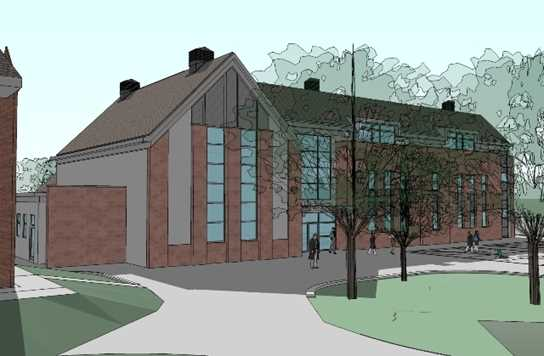 A 3D image of the new Junior Girls School