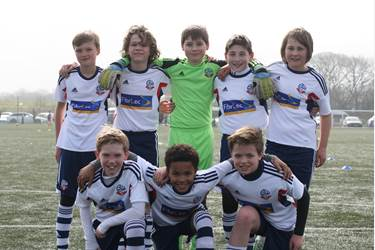 The Junior Boys represented Bolton Wanderers in the Northern Final