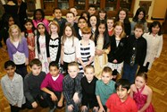 Local Year 5 pupils celebrate the SHINE programme