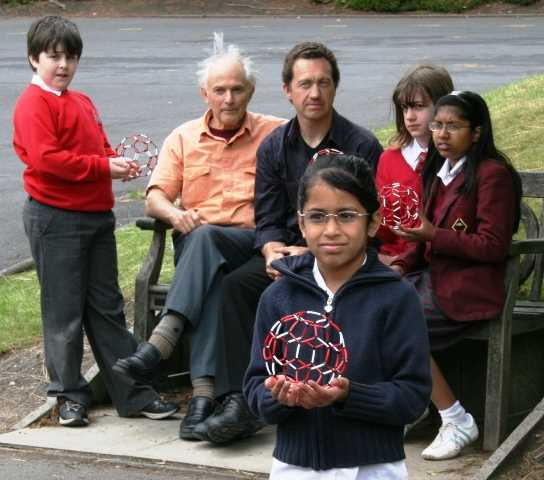 Sir Harry Kroto, an Old Boy and Nobel Prizewinner in Chemistry, returns to Bolton School