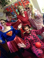 Staff at the Nursery got into the Red Nose Day spirit!