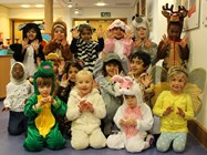 The Nursery Class in costume