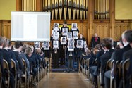 Boys created artwork and words to commemorate those that lost their lives during the First World War
