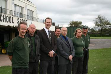 The Grounds Staff