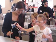 Children enjoy a Chemistry session