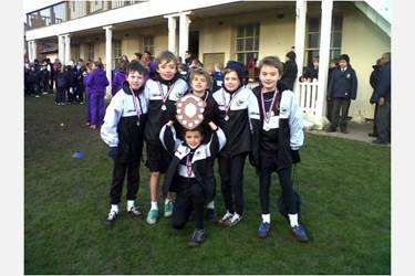 Bolton School Junior Boys AJIS Cross Country Champions