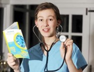 Bolton School pupil Sam Hassall stars in new CBBC show Junior Vets