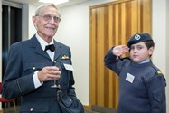 Old Boys and Cadets alike attended the Dinner