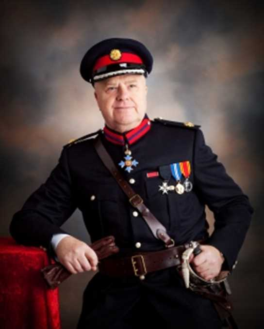 The High Sheriff of Greater Manchester, George Almond CBE