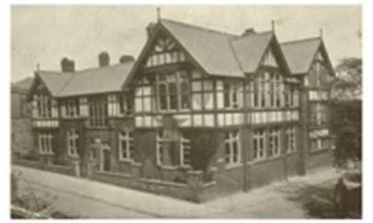The Boys Junior School in 1912