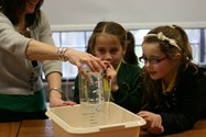Just for Girls Science day at Bolton School