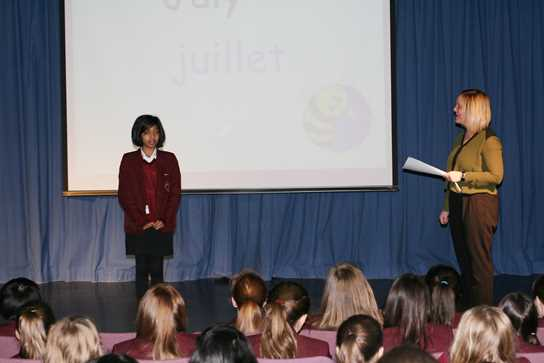 Bolton School Year 7 French Spelling Bee
