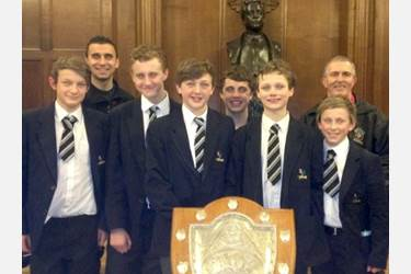 Bolton School Boys are Swim Champions of Bolton