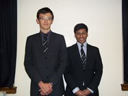 Daniel Hurt and Joseph Ayathamattam