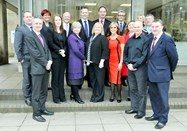 The Sponsors of the Business Awards 2013 gather at the launch