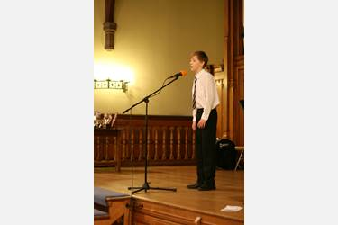 Matthew Kay was Junior Young Musician of the Year 2013