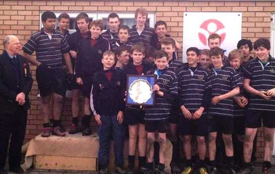 The U14s are Lancashire's 2013 Rugby Plate Winners