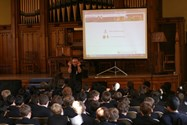 Author Alan Gibbons visits Bolton School