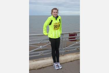Bolton School Sixth Form student Annabel Ault Great North West Half Marathon