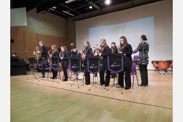 Bolton School Jazz Band at Music for Youth