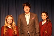 Luke Wright at Bolton School