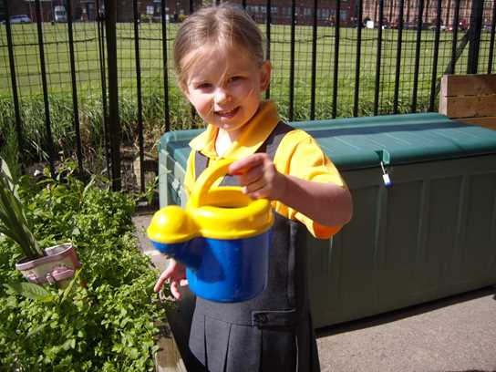 Children enjoy the mix of play and structured activities