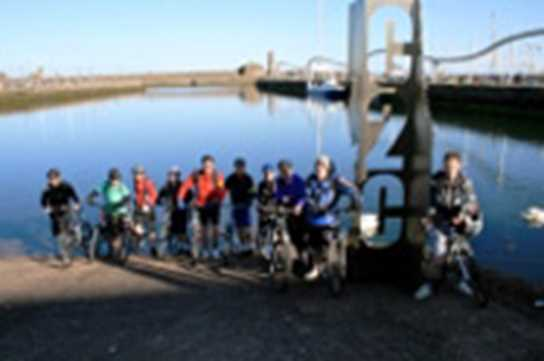 Sixth Form Boys in Coast to Coast Cycling Trip