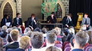 The event offered a great opportunity for the boys to showcase their debating skills