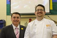 Andy Lagor and Joe Byrne of Unilever Food Solutions