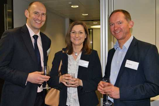 The Old Boys and Old Girls had chance to mingle at the networking event