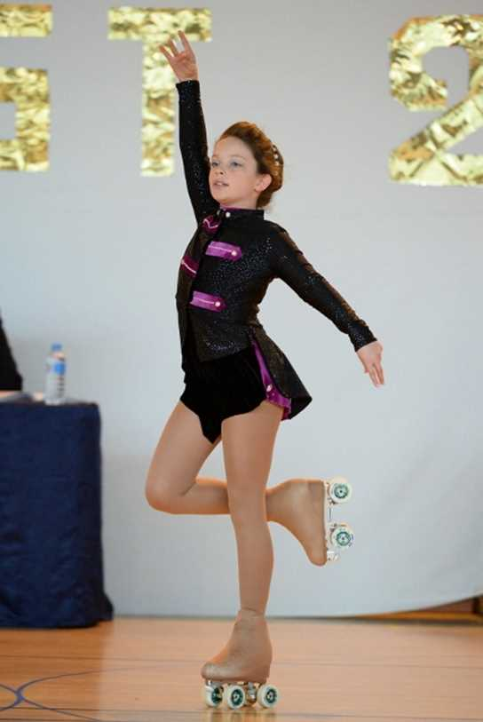Hollie performed above expectations at the competition