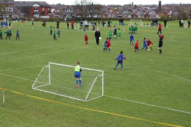 The Levels of Bolton School provided a wonderful playing surface for the Y3 and Y4 players