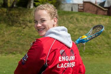Ellie has joined the England U19s Lacrosse Academy