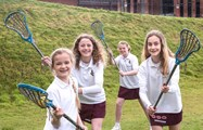 The four girls are set to develop their lacrosse skills further under the Talent Pathway for England Lacrosse programme